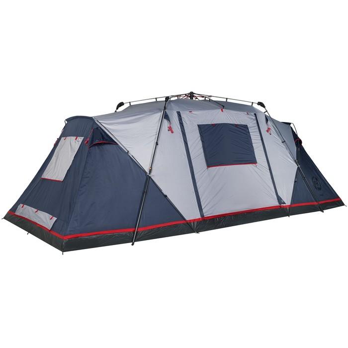 Палатка кемпинговая «Sirius 6», синий/серый - фото 35235
