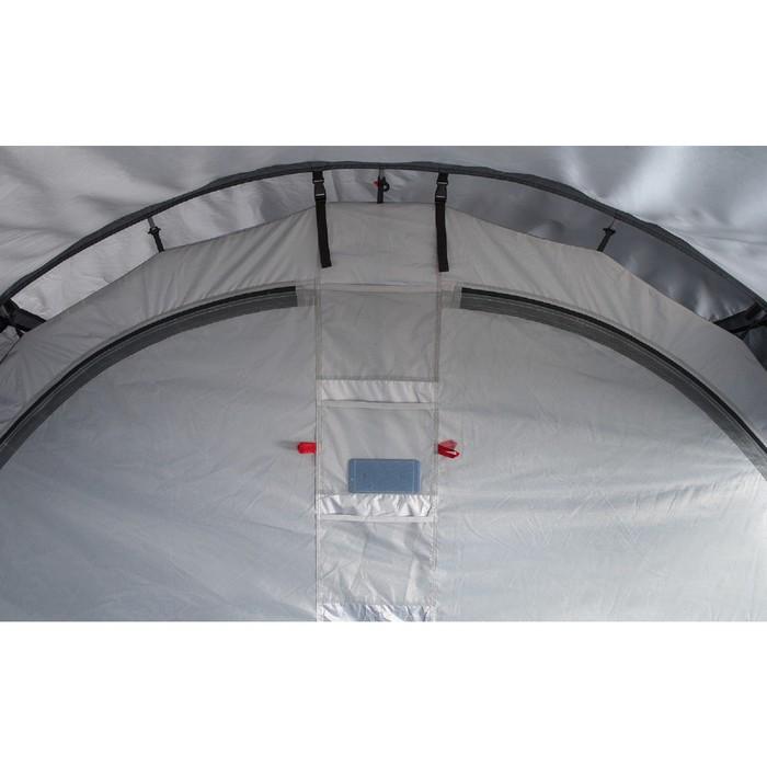 Палатка кемпинговая «Libra 4», синий/серый - фото 36347