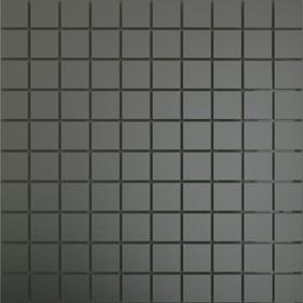 Зеркальная мозаика ««Графит»» матовый с чипом 25х25 мм