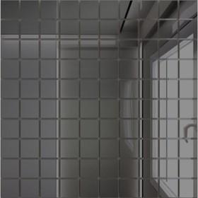 Зеркальная мозаика ««Графит»» с чипом 25х25 мм