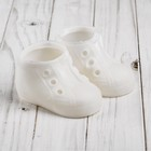 """Boots for dolls """"Chic"""", sole length 9.5 cm, 1 pair, colour white"""