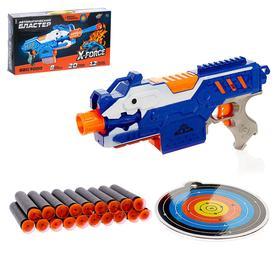 Бластер SBG 9000, стреляет мягкими пулями, работает от батареек