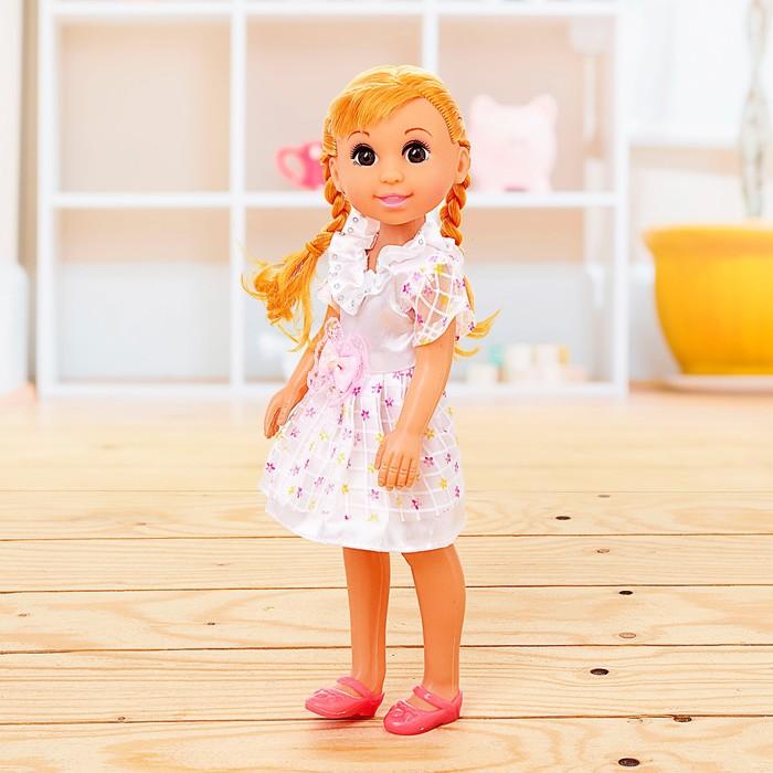 Кукла классическая «Наташа», в платье, МИКС