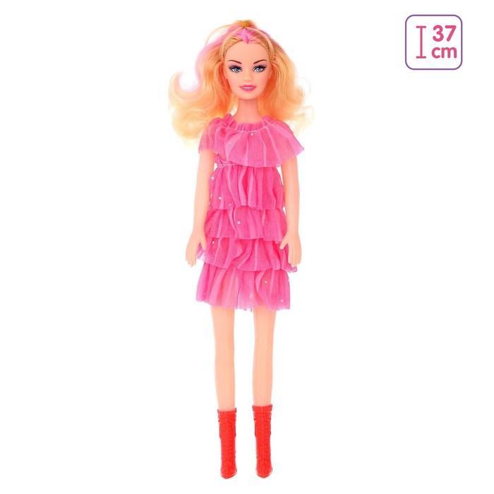 Кукла «Оля» в платье, высота 41 см, МИКС