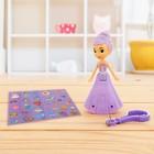 Кукла «Принцесса» со светом, с наклейками, цвета МИКС