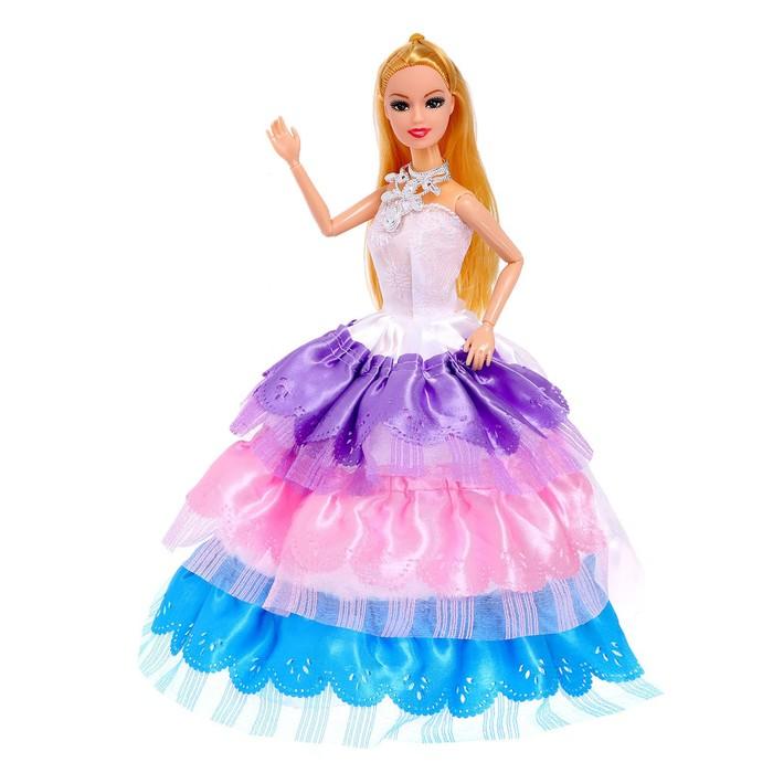 Кукла модель шарнирная «Мира» в платье