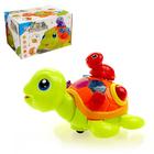 Развивающая игрушка «Черепашка с малышом», световые и звуковые эффекты, МИКС