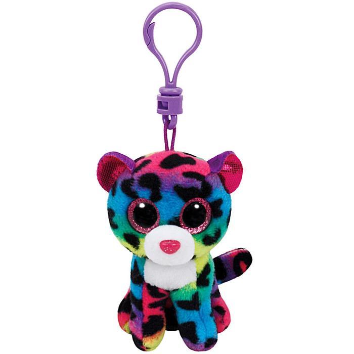 Мягкая игрушка-брелок «Леопард Dotty», многокрасочный, 10 см