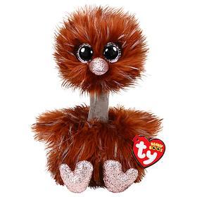 Мягкая игрушка «Страус Orson» коричневый, 15 см