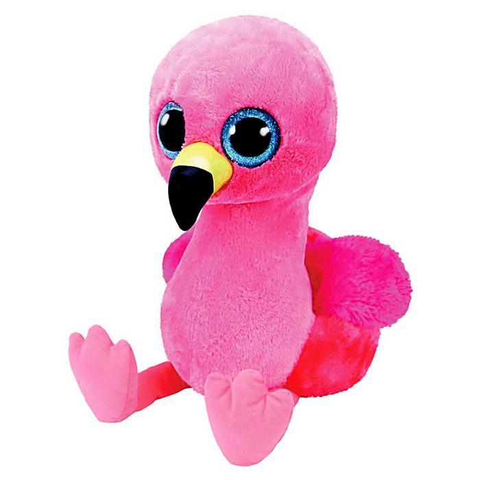 Мягкая игрушка-брелок «Фламинго Gilda», цвет розовый, 10 см