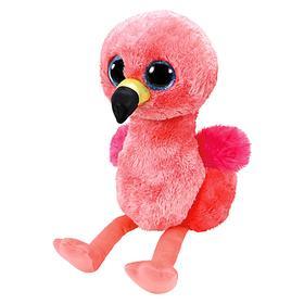 Мягкая игрушка «Фламинго Gilda», цвет розовый, 15 см