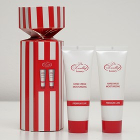 Подарочный набор Liss Kroully Red&White: крем для рук и маска для рук