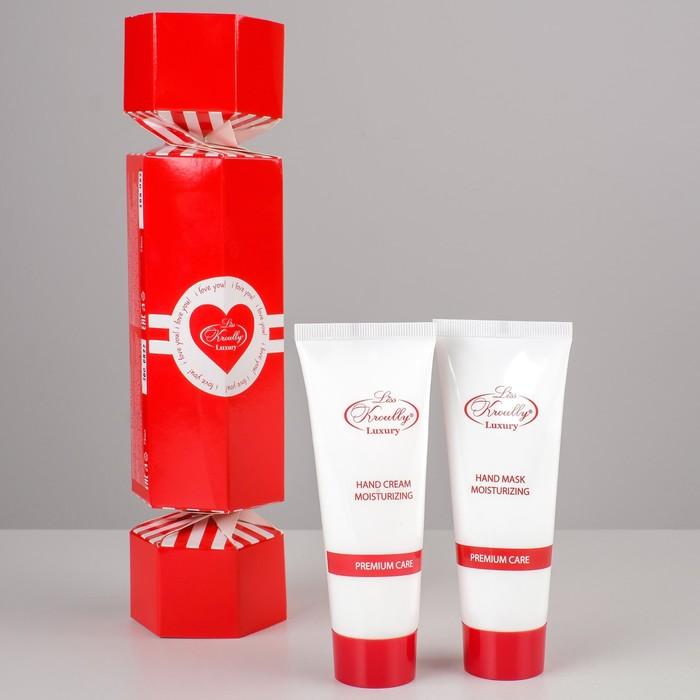 Подарочный набор Liss Krouly Heart: крем д/рук+маска д/рук