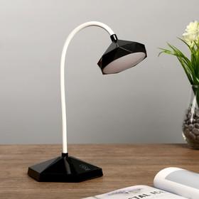 """Лампа настольная """"Даймонд"""" АКБ USB 6Вт черный 20х13х28 см."""