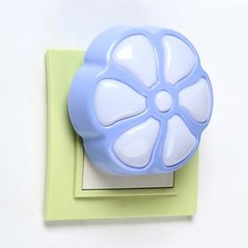 """Ночник """"Цветок"""" LED МИКС 7,5х4,5х7, см."""