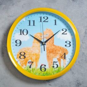 """Часы настенные, серия: Детские, """"Окальи"""", d=30 см, плавный ход"""
