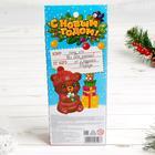 Телефончик музыкальный «Весёлый снеговик» свет, звук, цвета МИКС - фото 1043893