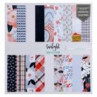 Набор бумаги для скрапбукинга 1canoe2 - Коллекция «Twilight» - 30х30 см