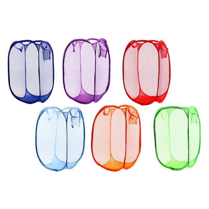 Корзина-сетка для хранения складная, цвета МИКС