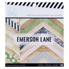 Набор бумаги для скрапбукинга Heidi Swapp «EMERSON LANE» 15х15 см, 36 листов