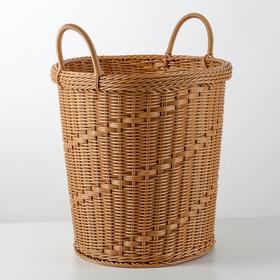 Корзина универсальная плетёная «Ультра», цвет коричневый
