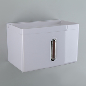 Paper towel dispensers in the leaves 22x13.5x14.5 cm plastic white