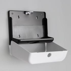 Paper towel dispensers in the leaves 27.5 x 10 x 20.5 cm plastic white