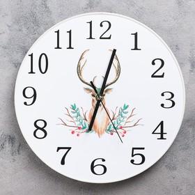 """Часы настенные, серия: Классика, """"Тигли"""", d=30 см"""