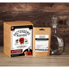 Подарочный набор для приготовления алкоголя «Пряный виски»: травы и специи 19 г., штоф 0,5 л