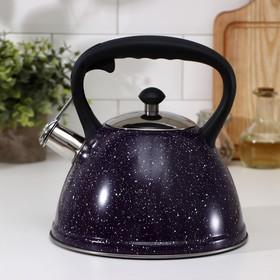 Чайник со свистком «Картун», 3 л, капсулированное дно, индукция, цвет МИКС