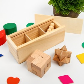 A set of puzzles