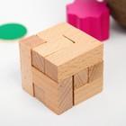 """Набор головоломок """"3 в 1"""" 6,3×16×5,5 см - фото 105587005"""