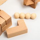 """Набор головоломок """"3 в 1"""" 6,3×16×5,5 см - фото 105587006"""