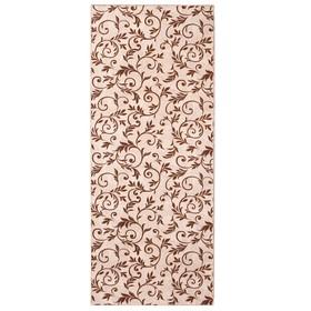Палас «Палисад», 150х400 см, цвет бежевый, войлок