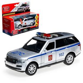 Машина металлическая «RANGE ROVER VOGUE. Полиция» 12 см, инерционная