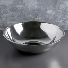Таз 12 л, d=44 см, нержавеющая сталь