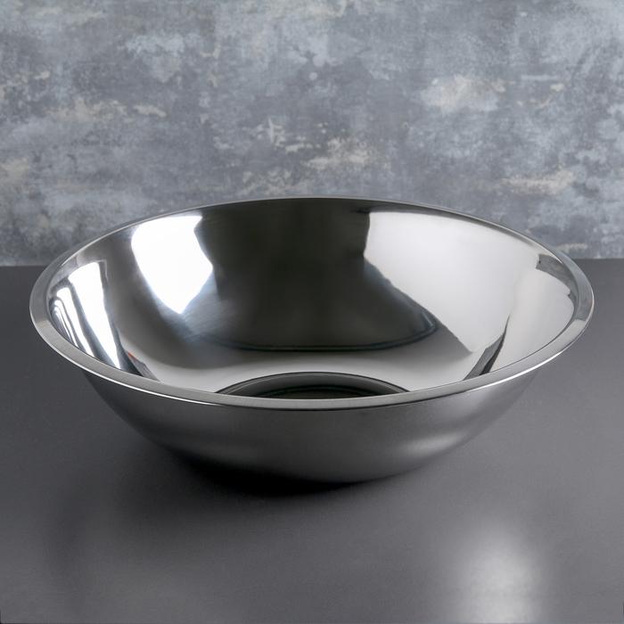 Таз 9 л, d=42 см, нержавеющая сталь