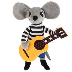 Мягкая игрушка «Мышонок с гитарой»