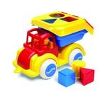 Сортер Vikingtoys «Машинка», с кубиками