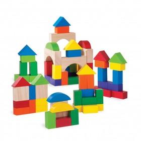 Игровой набор Wonderworld «Цветные кубики», 75 шт