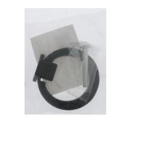 Ручка кнопка TUNDRA РК045BL, черная - фото 7414884