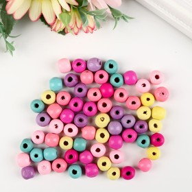 """Set of beads for creativity tree """"colored Bulbs"""" set of 20 gr 1x0. 9 cm"""