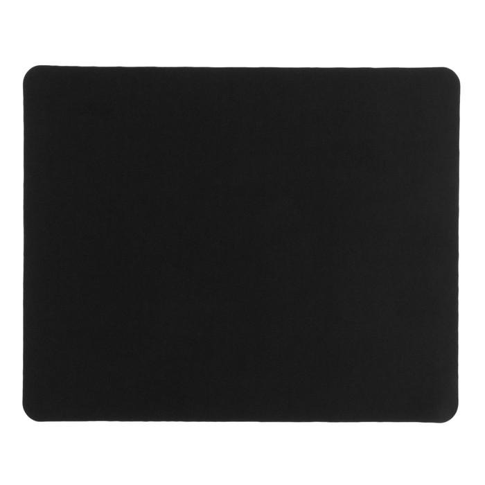 Коврик для мыши LuazON, 22х18 см, черный