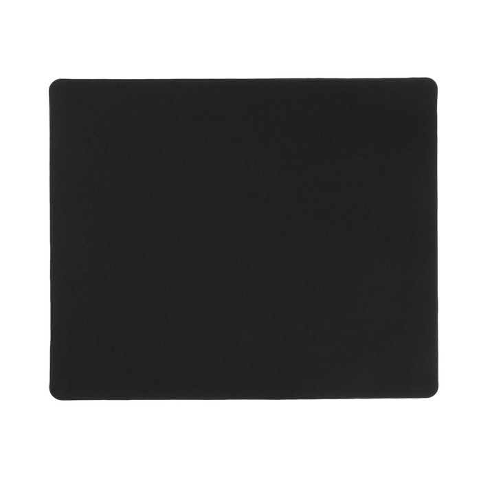 Коврик для мыши LuazON, 30х25 см, черный