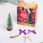 "Set Create your own Christmas tree ""happy New Year"": the Christmas tree and decorations"