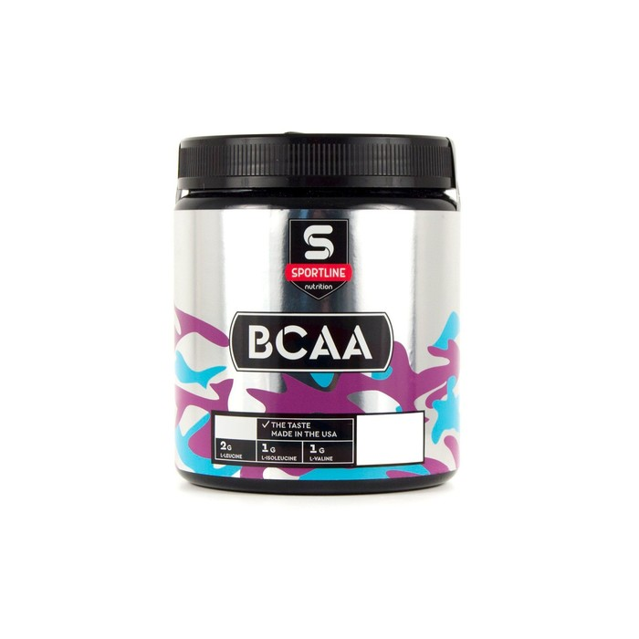 Аминокислоты SportLine BCAA 2:1:1 450g (Клубника)