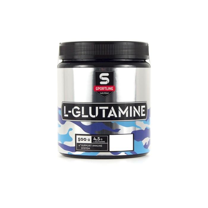 Глютамин SportLine L-Glutamine Powder, мандарин, 500 г