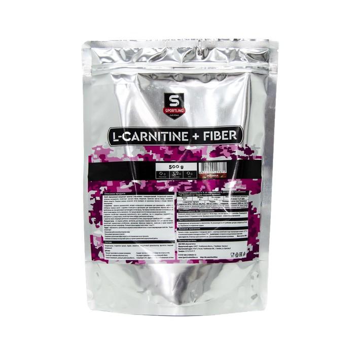 L-Carnitine+Fiber SportLine Bag 500g (Малина)