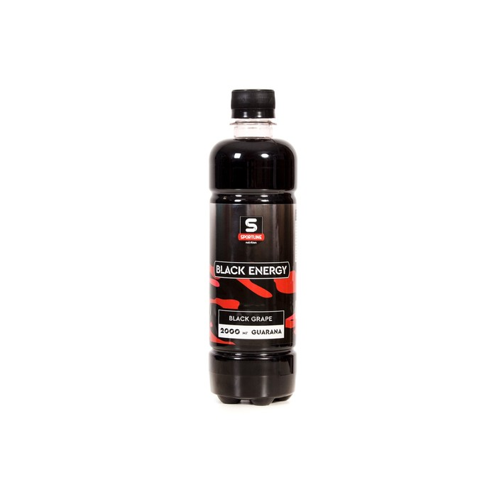 Напиток SportLine Black Energy 2000mg 500ml (Черный виноград)