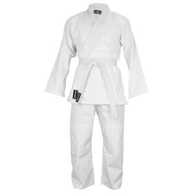 Кимоно дзюдо 425 гр/м BoyBo, цвет белый, рост 130
